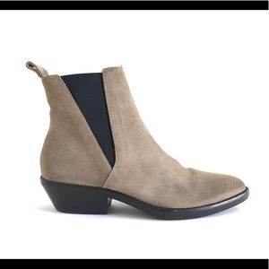 Isabel Marant Drenky Calf Suede Chelsea Ankle Boot